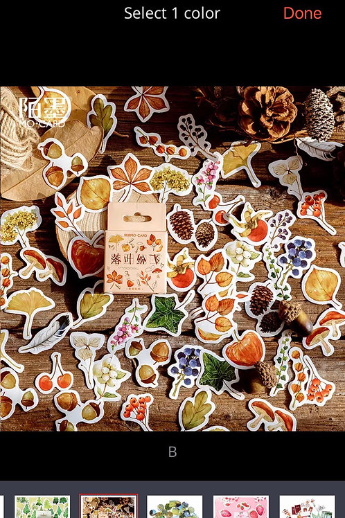 FOREST STICKERS