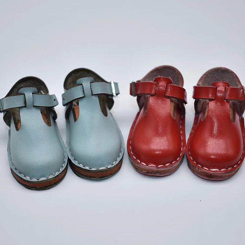 HANDMADE LEATHER BABY BOO SHOES