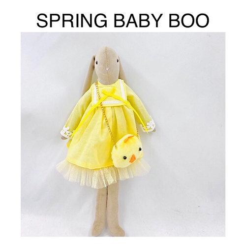 SPRING BABY BOO DRESS & BAG