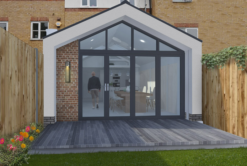 North London House Rear Extension