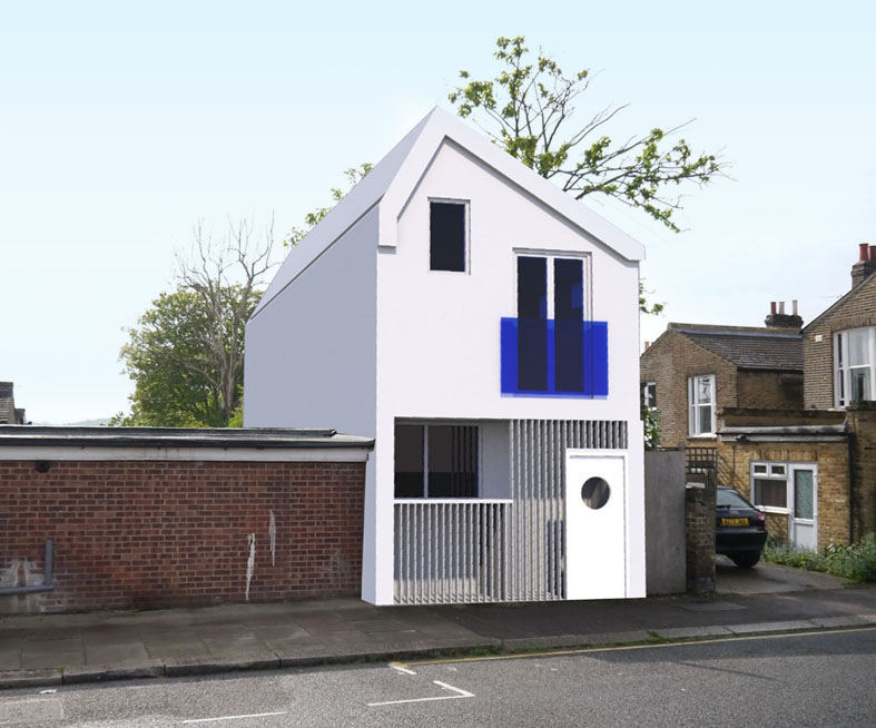 Feasibility Model for New House on a Tight Site
