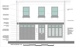 Mews House New Street Elevation