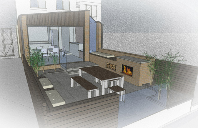 Design Study for Docklands House Extension