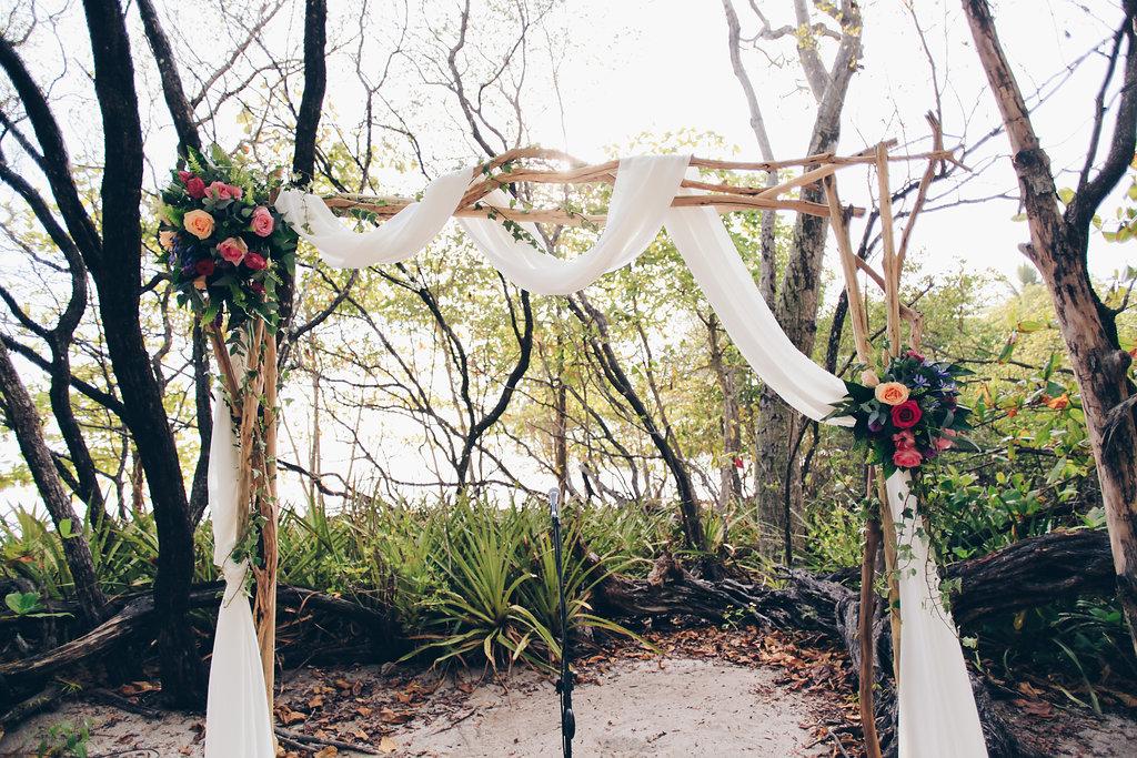 """alt =""""Ceremony arch details"""""""