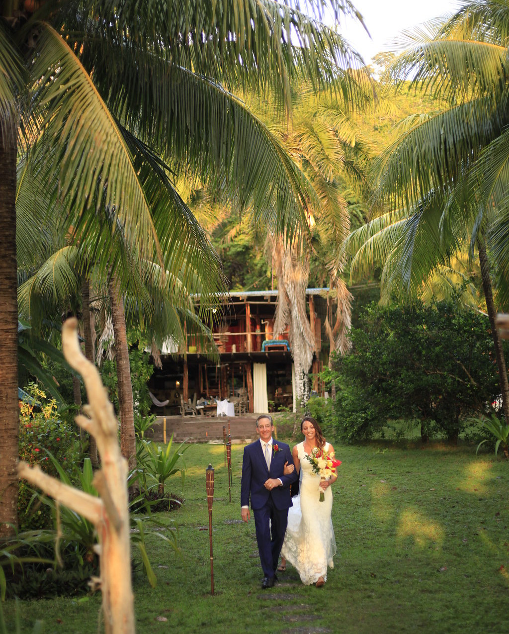 getting married in the tropics