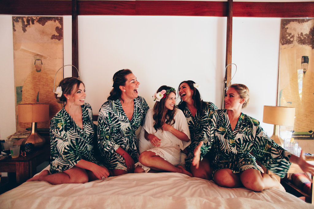 """alt =""""The bride with her bridemaids"""""""
