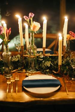 brass candles
