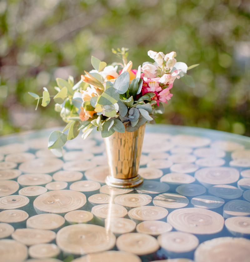 Eucalyptus flower decor