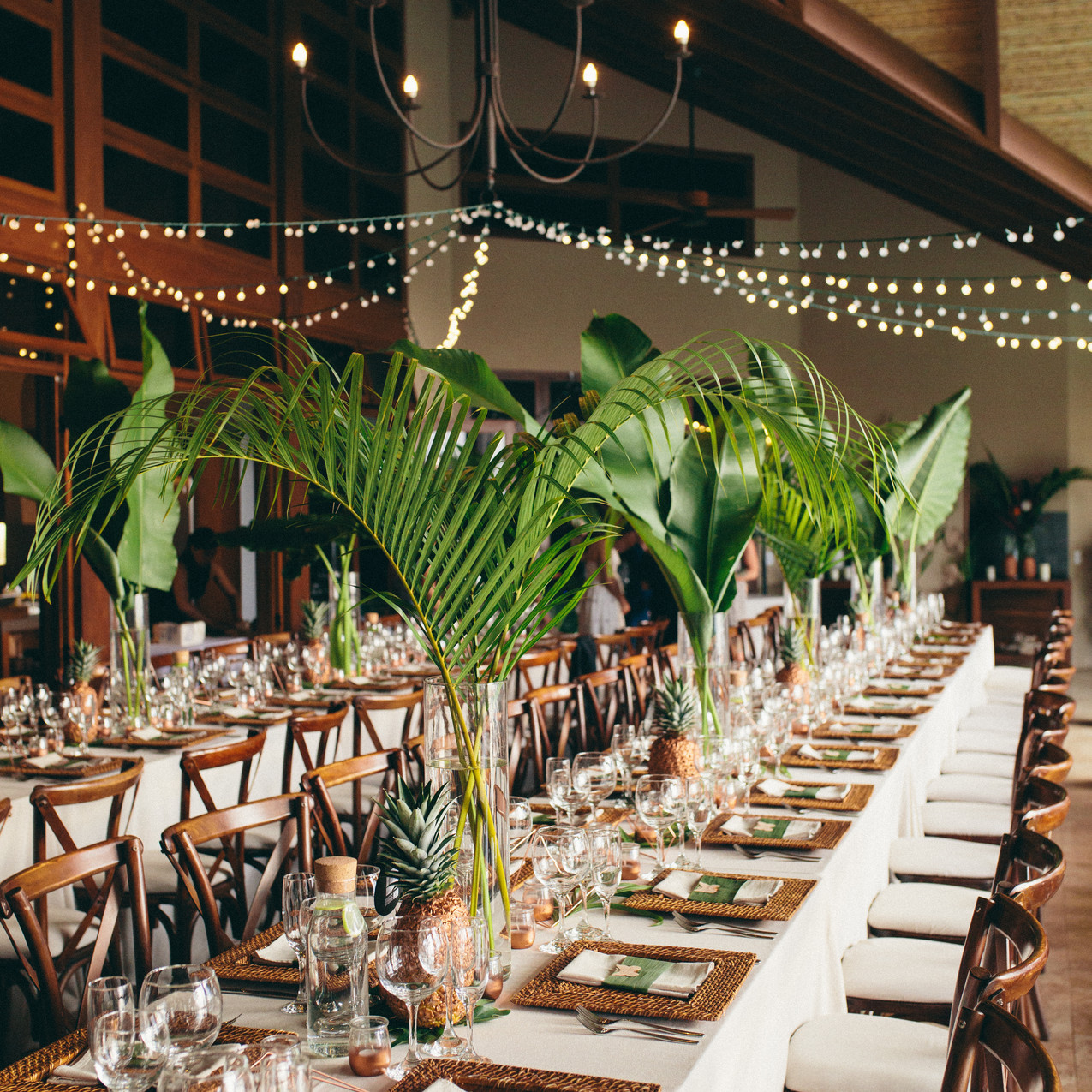 Wedding reception in Costa Rica