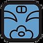 青い猿紋章.png