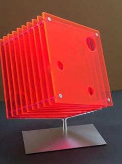 Tunneled Orange Cube