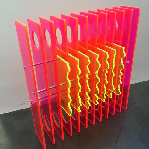 Transparent Repetitions Red