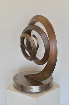 Askew Bronze Spiral