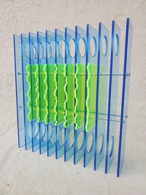Transparent Repetitions Blue