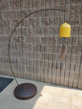 Curved Rod Bell Stand Heavy Base