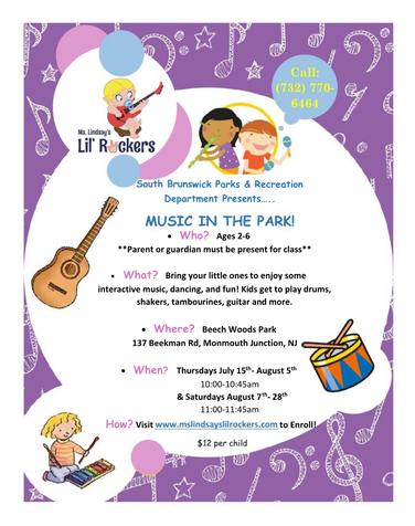 Music Classes at Beechwoods Park