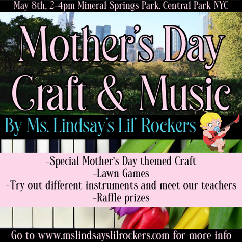 Mother's Day Craft & Music Event