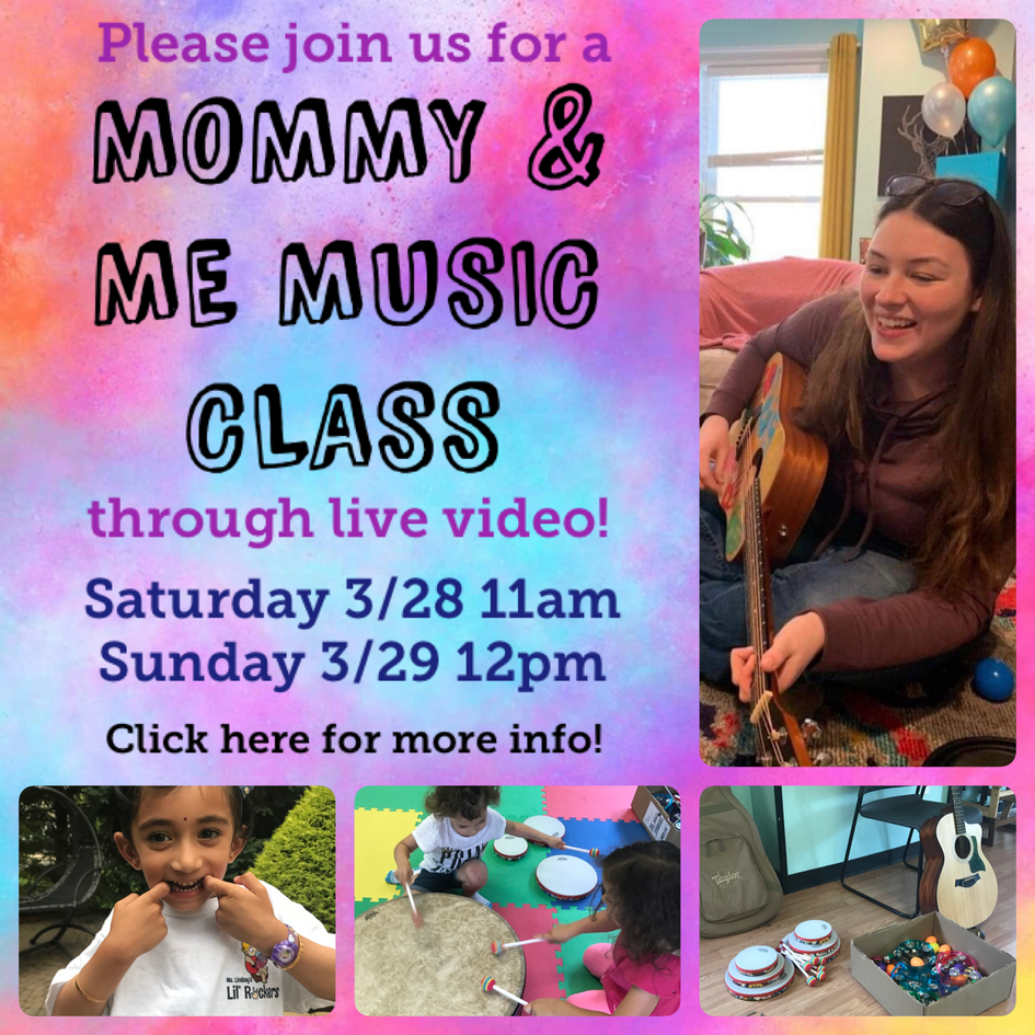 Video Chat Mommy & Me Class!