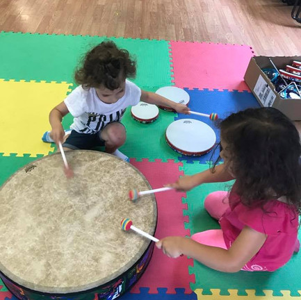 Fun music class at the Legacy Life Center!
