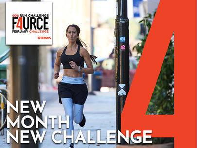 NEW F4URCE RUN CHALLENGE FEBRUARY 2021