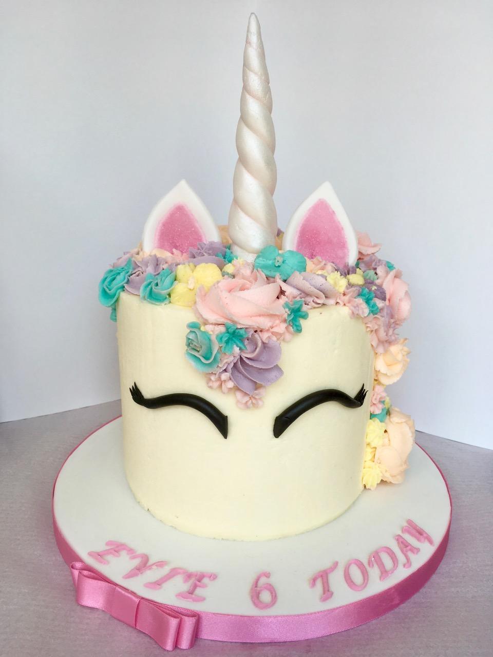 Buttercream unicorn