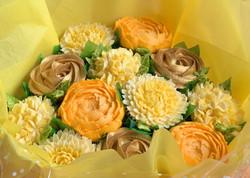 Golden Anniversary Cupcake Bouquet