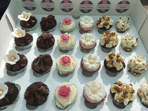 Gourmet Mini Cupcakes