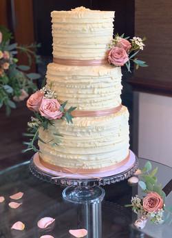 celebrity cakes buttercream wedding cake