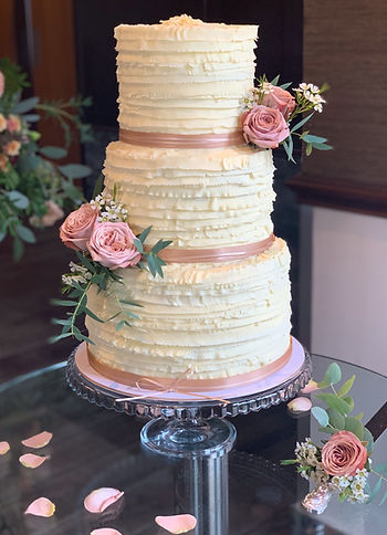 celebrity cakes buttercream wedding cake
