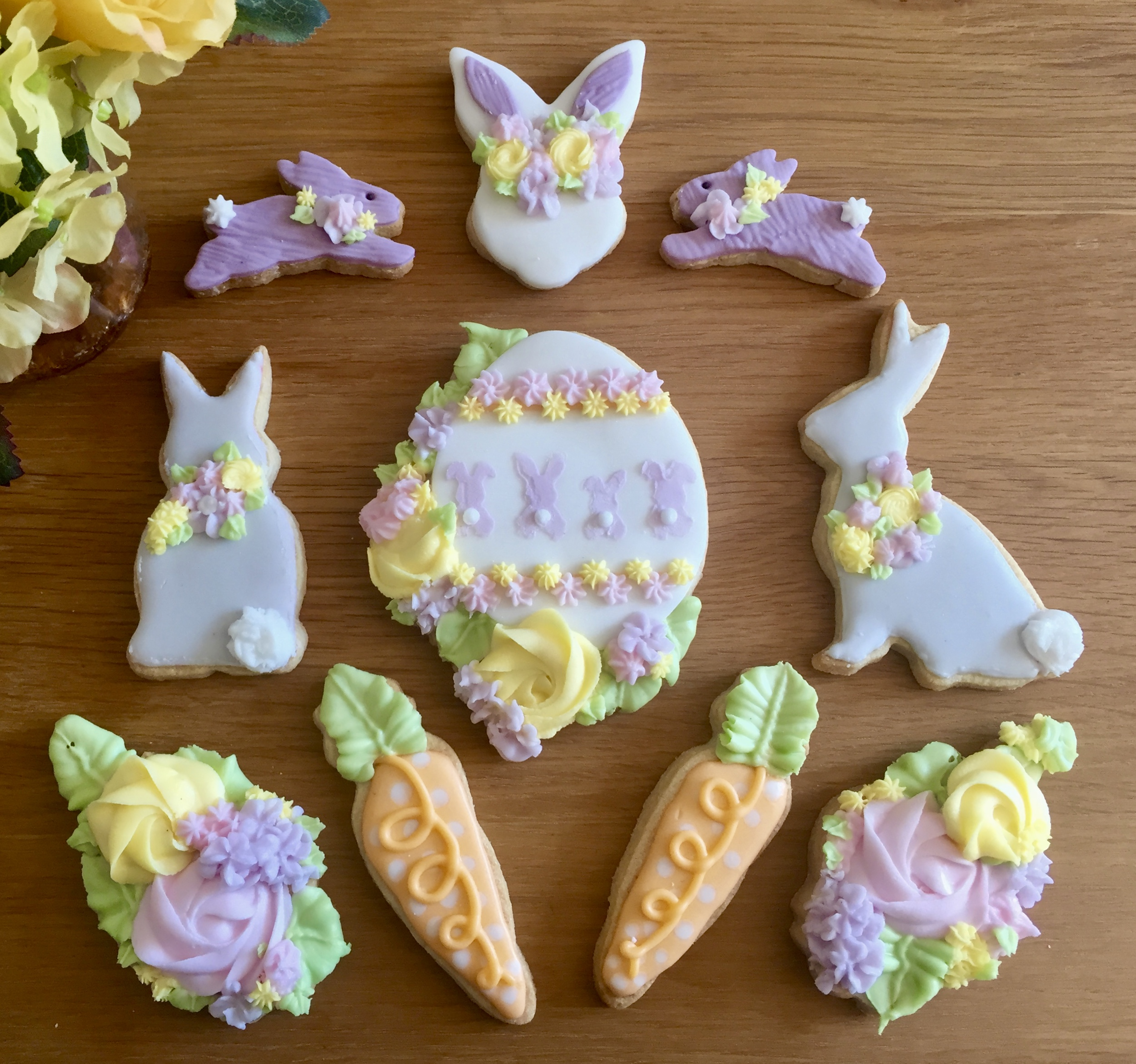 Easter Cookies Celebrity Cakes
