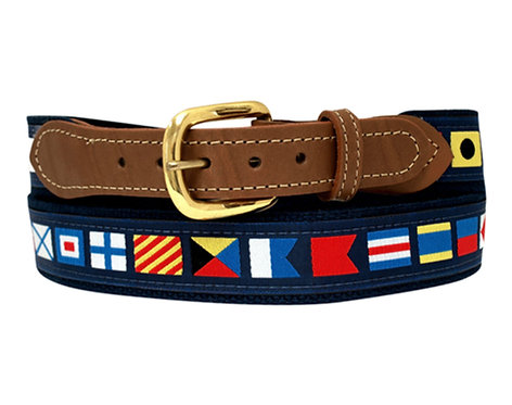 Nautical Code Flag Belt