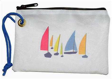 Dacron Wristlet with Sailboat Design