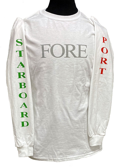 Long Sleeve Fore Aft T Shirt