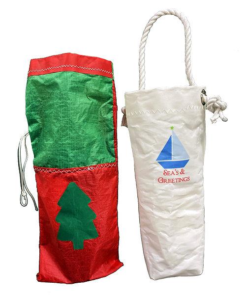 Christmas Wine Bags
