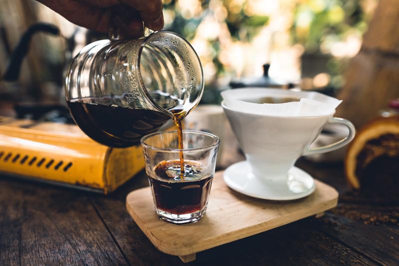 Café coado Cajubá