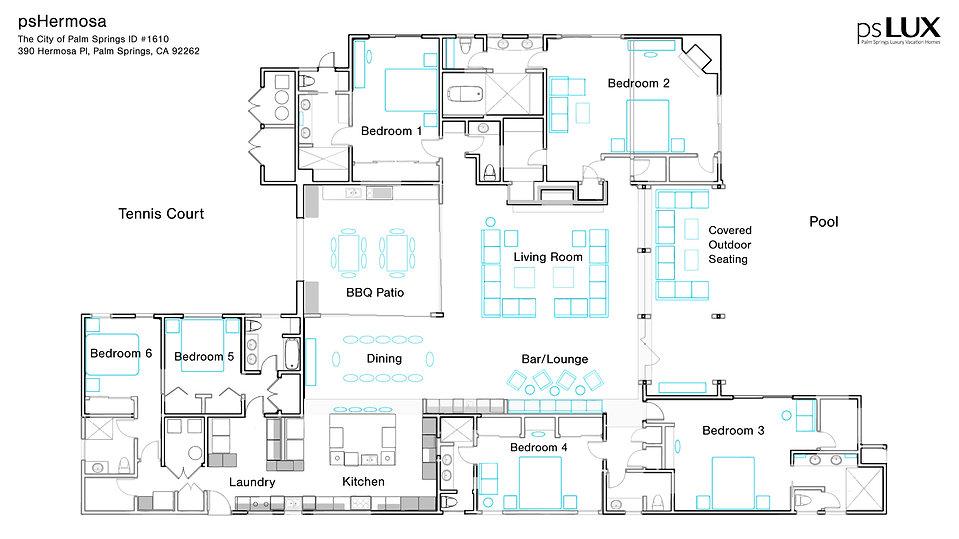 psHermosa Floorplan