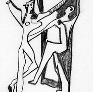 Picasso Three Dancers.JPG