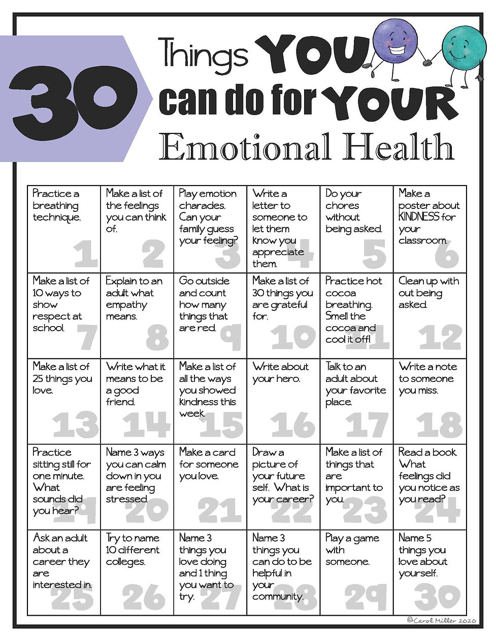 30ThingsWeCanDoForOurEmotionalHealthSELR