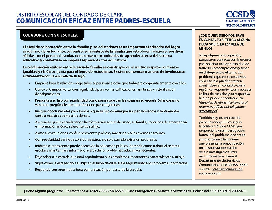2366.14 - Effective Parent-School Communication_English and Spanish Version_rev.8-2021_Pag