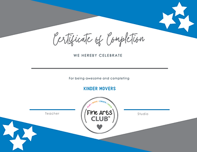 Kinder Movers Certificate.png