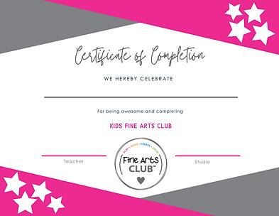 Kids Fine Arts Club Certificate.png