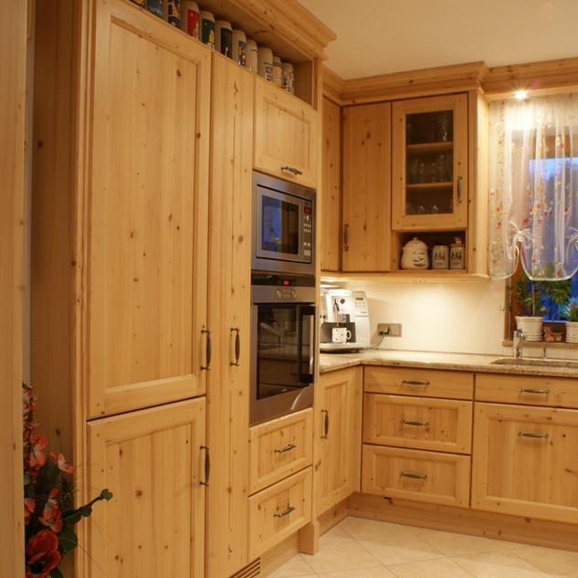 Küche Fichte Rahmen und Füllung