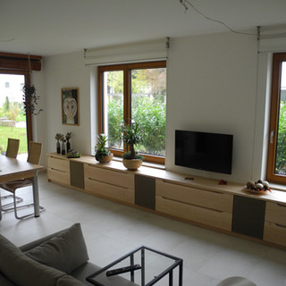 Wohnzimmer Lowboard aus kanadischen Ahorn