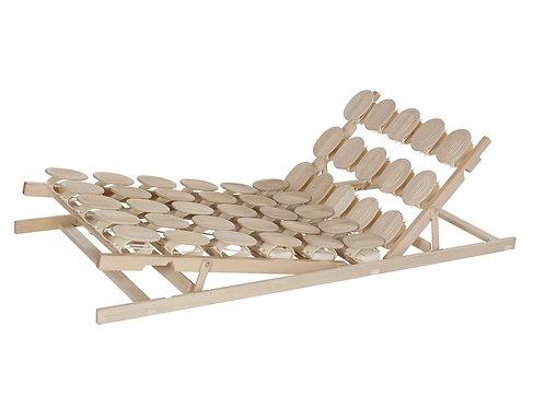 Relax 2000 mit Schulterabsenkung Tellersystem Buche Sitz- und Fußhochstellung
