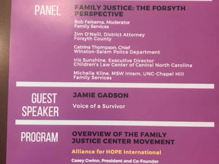 Forsyth County Family Justice Center Community Forum
