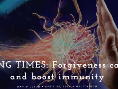 Challenging Times: Forgiveness Can Ease Stress and Boost Immunity