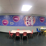 Kids Clubs Wall Graphic