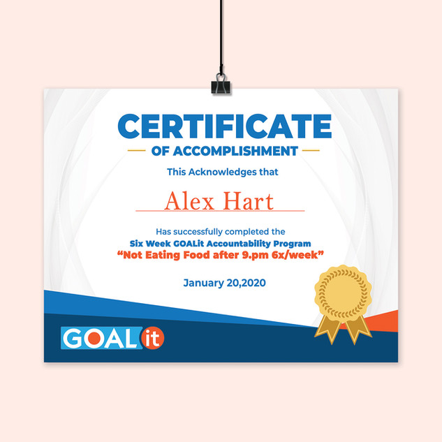 Certificate Flyer