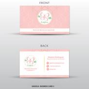 Gigi Vzla Business Card Design