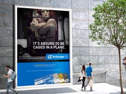 Air Europa Mall Advertising